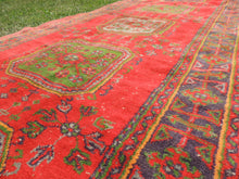 Red Turkish runner rug - bosphorusrugs  - 6