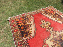 Vintage Turkish Area rug with low piles - bosphorusrugs  - 6