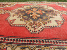 Vintage Turkish Area rug with low piles - bosphorusrugs  - 7
