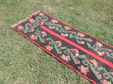Karabagh kilim runner rug - bosphorusrugs  - 5