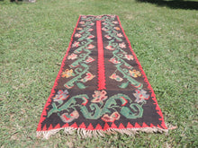 Karabagh kilim runner rug - bosphorusrugs  - 6