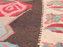 Undyed floral Turkish kilim - bosphorusrugs  - 6