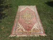 Vintage Turkish Milas rug silky wool - bosphorusrugs  - 2