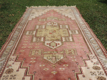 Vintage Turkish Milas rug silky wool - bosphorusrugs  - 4