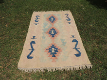 Turkish kilim rug Pinky - bosphorusrugs  - 2