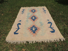 Turkish kilim rug Pinky - bosphorusrugs  - 3
