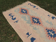 Turkish kilim rug Pinky - bosphorusrugs  - 4