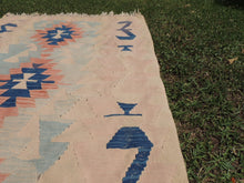Turkish kilim rug Pinky - bosphorusrugs  - 6