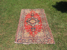 Vintage Worn Turkish Carpet - bosphorusrugs  - 2