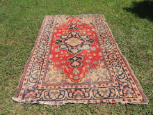 Vintage Worn Turkish Carpet - bosphorusrugs  - 3
