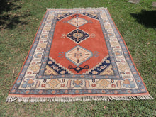 70's Vintage Turkish area rug - bosphorusrugs  - 2