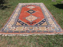 70's Vintage Turkish area rug - bosphorusrugs  - 3