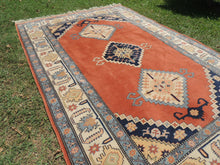 70's Vintage Turkish area rug - bosphorusrugs  - 4