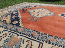 70's Vintage Turkish area rug - bosphorusrugs  - 8