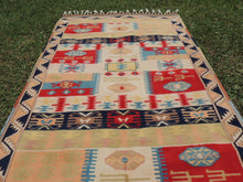 80's modern style Turkish area rug - bosphorusrugs  - 4