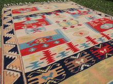 80's modern style Turkish area rug - bosphorusrugs  - 6