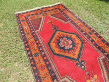Vintage wool Turkish area rug - bosphorusrugs  - 4