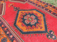 Vintage wool Turkish area rug - bosphorusrugs  - 6
