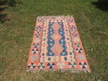 Turkish boho kilim rug - bosphorusrugs  - 2