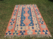 Turkish boho kilim rug - bosphorusrugs  - 3