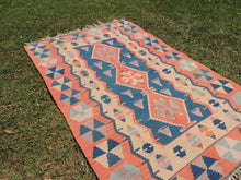 Turkish boho kilim rug - bosphorusrugs  - 4