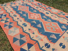 Turkish boho kilim rug - bosphorusrugs  - 6