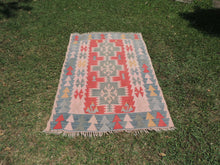 70's Turkish Oushak kilim rug - bosphorusrugs  - 2
