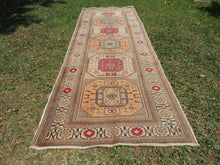Turkish runner rug Kayseri Kazakh style - bosphorusrugs  - 3