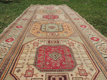 Turkish runner rug Kayseri Kazakh style - bosphorusrugs  - 5