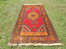 Vintage wool Turkish area rug - bosphorusrugs  - 3