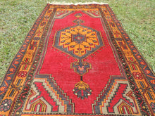 Vintage wool Turkish area rug - bosphorusrugs  - 5