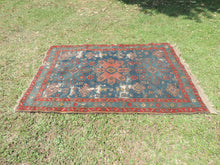 Vintage worn Persian area rug - bosphorusrugs  - 3
