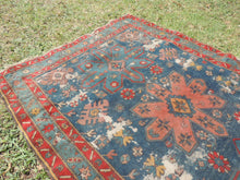 Vintage worn Persian area rug - bosphorusrugs  - 4