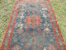 Vintage worn Persian area rug - bosphorusrugs  - 7