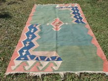 Modern art Turkish kilim rug - bosphorusrugs  - 3
