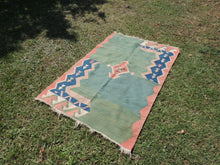 Modern art Turkish kilim rug - bosphorusrugs  - 4