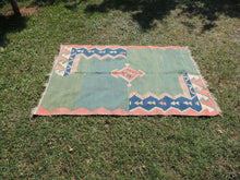 Modern art Turkish kilim rug - bosphorusrugs  - 5