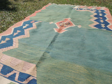 Modern art Turkish kilim rug - bosphorusrugs  - 7