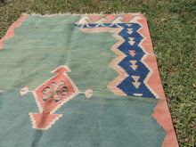 Modern art Turkish kilim rug - bosphorusrugs  - 8