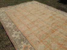Large Pastel Turkish area rug Milas - bosphorusrugs  - 3