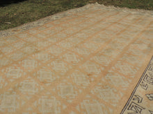Large Pastel Turkish area rug Milas - bosphorusrugs  - 6
