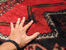 Black and Red Turkish Carpet - bosphorusrugs  - 7