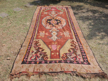 Brown Kars kilim rug - bosphorusrugs  - 2