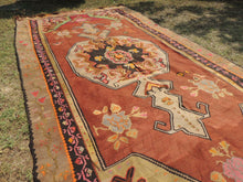 Brown Kars kilim rug - bosphorusrugs  - 4