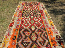 Colorful kilim rug Kayseri - bosphorusrugs  - 2