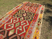 Colorful kilim rug Kayseri - bosphorusrugs  - 3