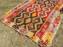 Colorful kilim rug Kayseri - bosphorusrugs  - 4