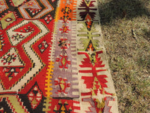 Colorful kilim rug Kayseri - bosphorusrugs  - 6