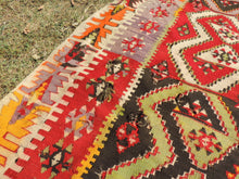 Colorful kilim rug Kayseri - bosphorusrugs  - 7