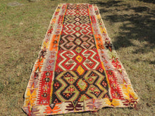 Colorful kilim rug Kayseri - bosphorusrugs  - 5